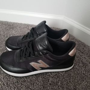Super Cute New Balance Black with Rose gold Detail